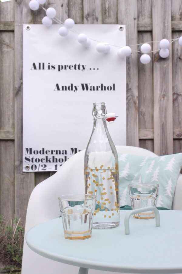 Outdoor Gartenposter All is pretty Andy Warhol