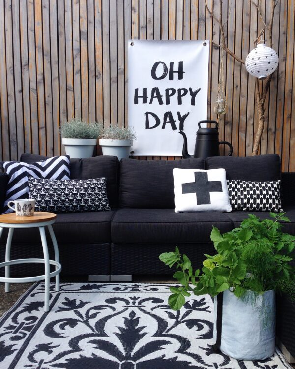 Gartenposter Happy Day Sipp Outdoor Poster Happy Day