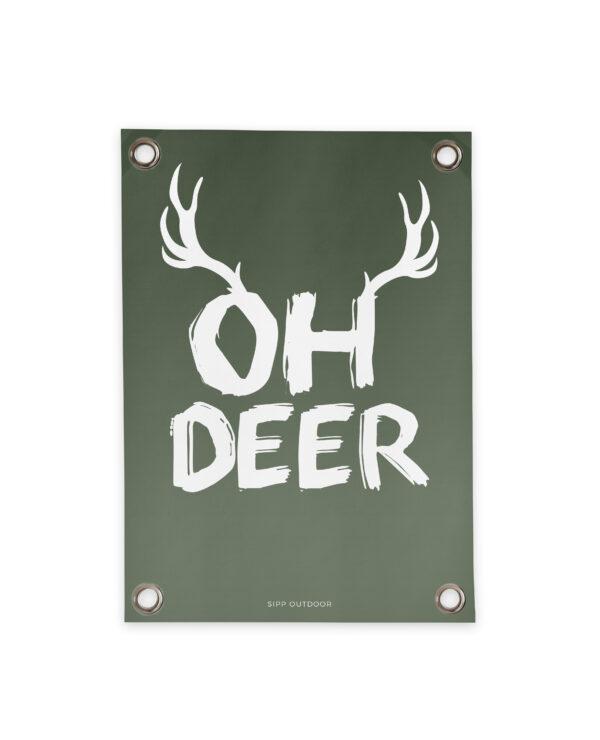 """Gartenposter """"Oh Deer"""" Villa Madelief"""