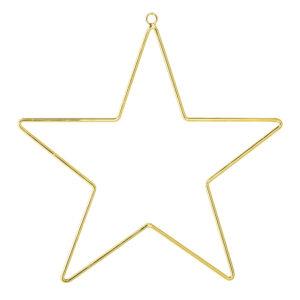Stern Anhänger Gold Metall Bloomingville Villa Madelief