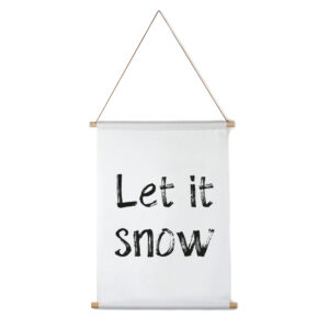 Textilposter Let it snow Villa madelief
