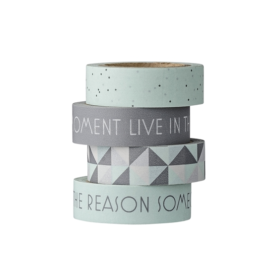 Masking Tape winter Mint/Grau 4er set