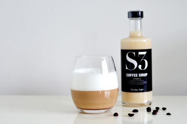 Nicolas Vahé Kaffesirup S3 Vanille