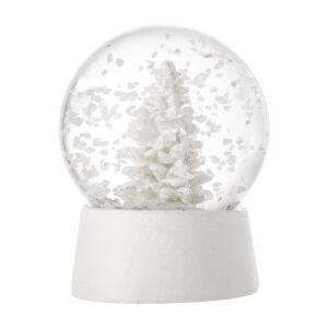 Schneekugel Weiss Bloomingville