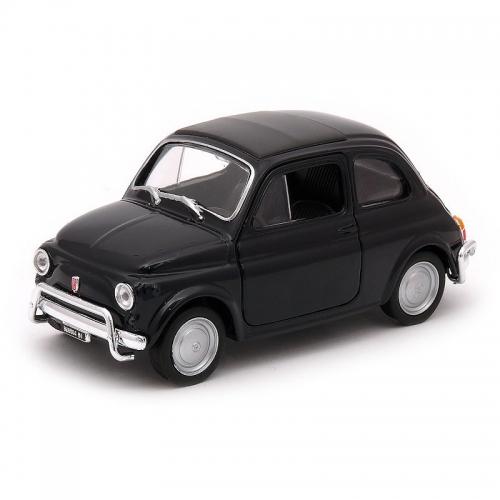 Fiat 500 Modellauto Schwarz