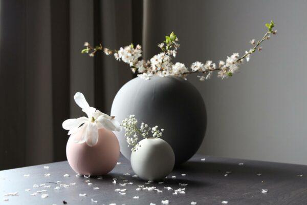 Rosa Kugelvase Cooee Design 8 cm