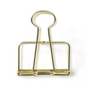 Papierklemme Monograph Gold 5 cm binder clip  Villa Madelief