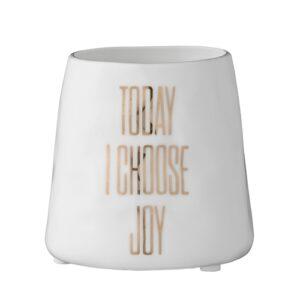 Bloomingville Teelichthalter Choose Joy Villa Madelief
