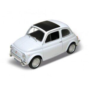 Fiat 500 Modellauto Weiss