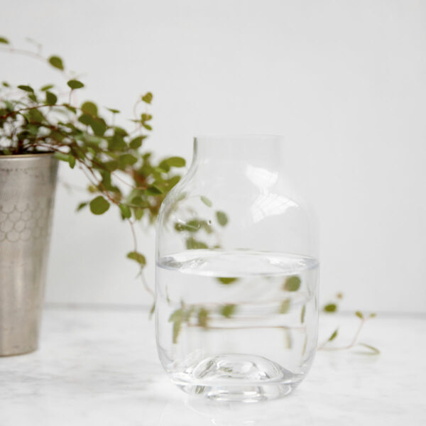 Vase shaped House Doctor Transparent klein Villa Madelief