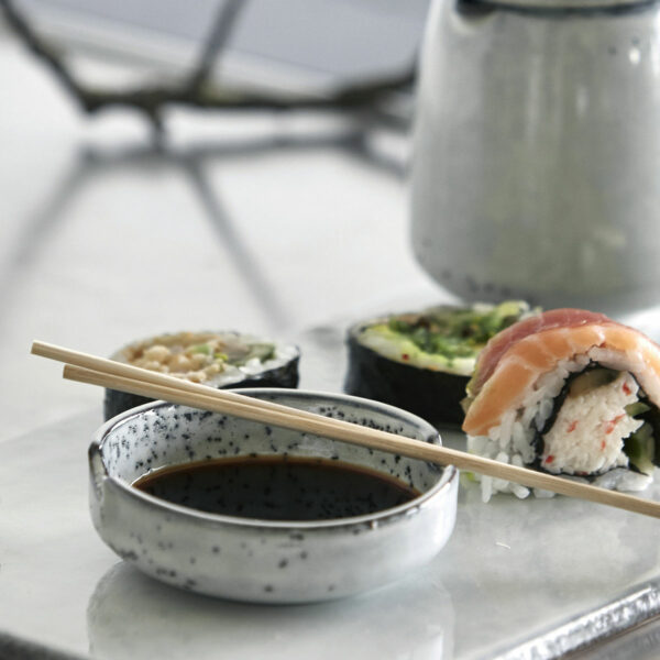 Rustic Sushi Schale