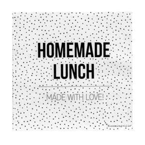 Papierservietten Homemade lunch Bloomingville