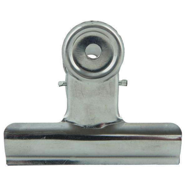 Metallklammer XL Silber 8,5 cm House Doctor