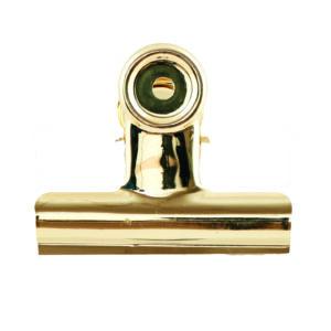 Metallklammer XL Gold 8,5 cm House Doctor