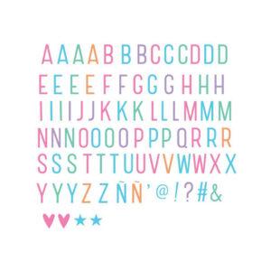 Buchstabenset Pastell Lightbox A Little Lovely Company