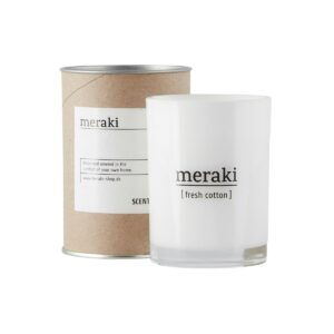Meraki Duftkerze Fresh Cotton Gross