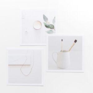 Moodboard minimalistic Karten Villa Madelief