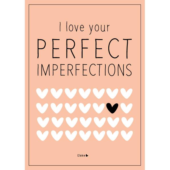 Postkarte Elske Leenstra Imperfections