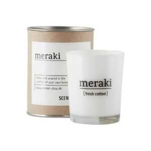 Meraki fresh cotton Duftkerze