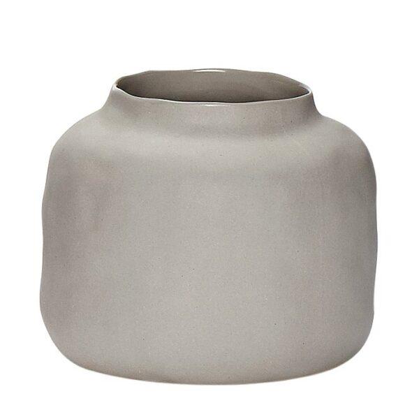 Vase Pastell Hübsch hellgrau