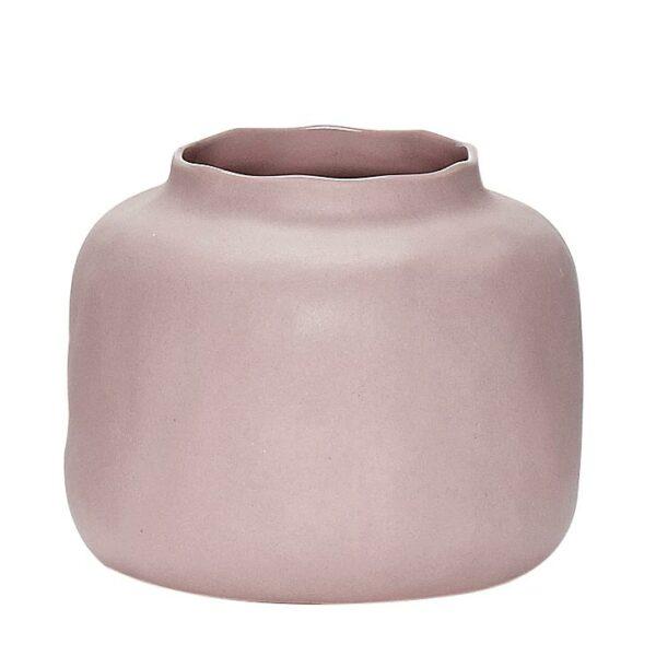 Vase Pastell Hübsch altrosa