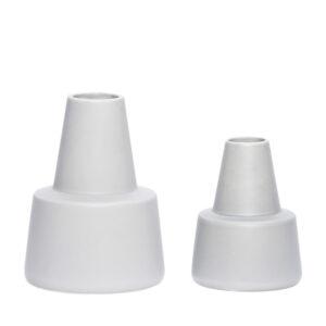 Vasen klein Grau Hübsch