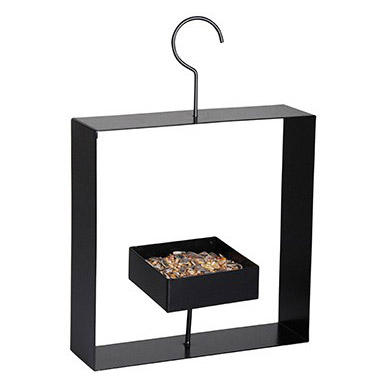 Design bird feeder black