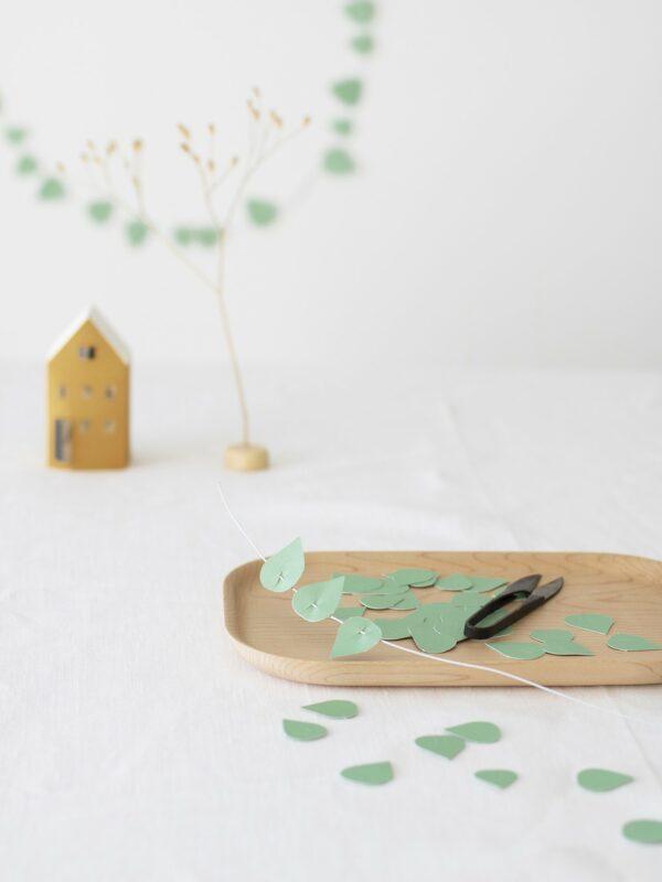 Jurianne Matter Twig Leaves mint Villa Madelief
