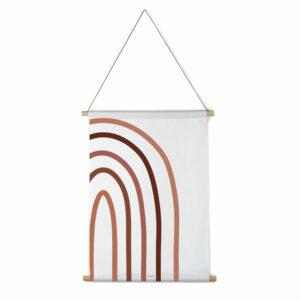 Interieurbanner regenboog fragment