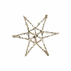 House Doctor ornament star bronze