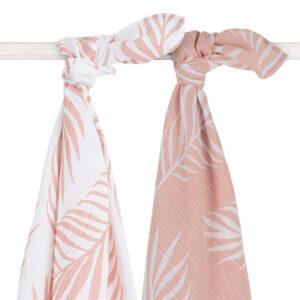 Hydrofiele doeken pale pink