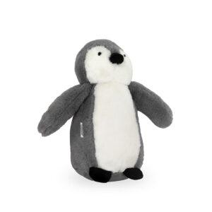 Knuffel pinguïn grijs