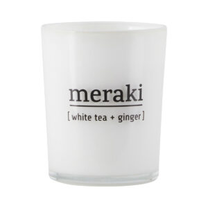 Meraki geurkaars white tea