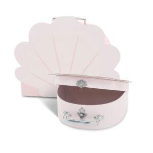 Koffersetje roze