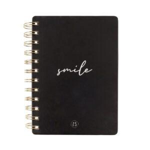 Zusss notitieboekje zwart